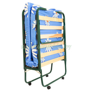 Wheel-supported folding bed-cabinet KT-07L