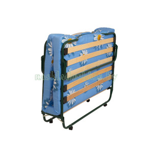 Wheel-supported folding bed-cabinet KT-08L